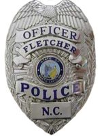 Fletcher Police Badge