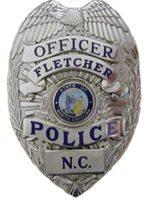 Fletcher Police Badge