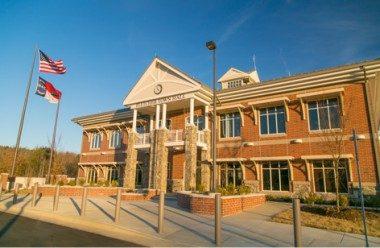 Fletcher Town Hall building